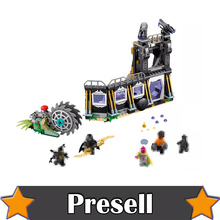 Lepin 07106 466pcs Super Heroes 76103 Corvus Glaive Thresher Attack Building Blocks Bricks Toys Marvel AVENGERS Infinity War