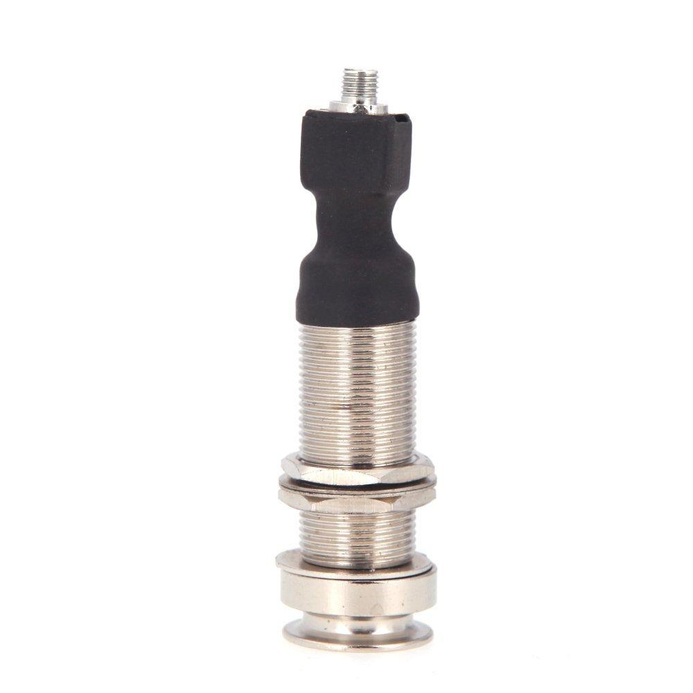 Wholesale 3PCS 6.35mm Output End Pin Jack for Piezo Cable Pickup Guitar Ukelele