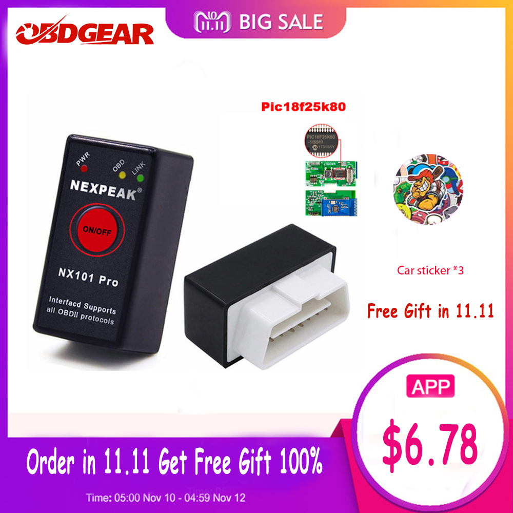 OBD2 ELM327 bluetooth pic18f25k80 OBD2 Autoscanner ULME 327 Mini V1.5 OBD2 Bluetooth Adapter EML327 V 1,5 Auto Diagnose Werkzeug
