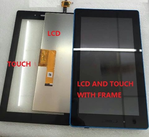 7 For Lenovo Tab 3 7.0 710 essential tab3 710F LCD Display With Touch Screen Digitizer Assembly Free Shipping
