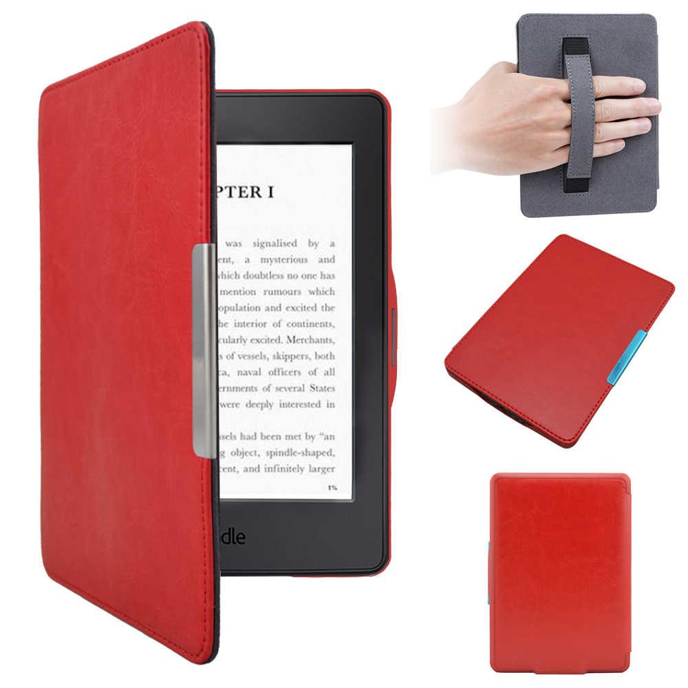 読書良質電子書籍カバー革 Kindle の Paperwhite 電子ブックリーダー手帳 Elektronik エレクトロニクスブック