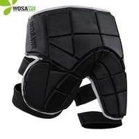 WOSAWE Ski Pants EVA Protection Outer Wear Free Size Non slip Extreme Sport Padded Shorts Skiing Hockey Snowboarding Short Pant