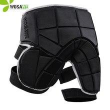 WOSAWE Ski Pants EVA Protection Outer Wear Free Size Non-slip Extreme Sport Padded Shorts Skiing Hockey Snowboarding Short Pant