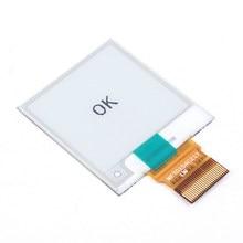 Высокая Разрешение E-Ink Дисплей электронных чернил Экран белый/черный 1.54 дюймов E-Бумага SPI электронный Бумага 152×152 частичное обновление