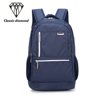 5 Candy Colors Simple Nylon Backpack Students School Bag Women Girl Rucksack Mochila Escolar 15 Inch