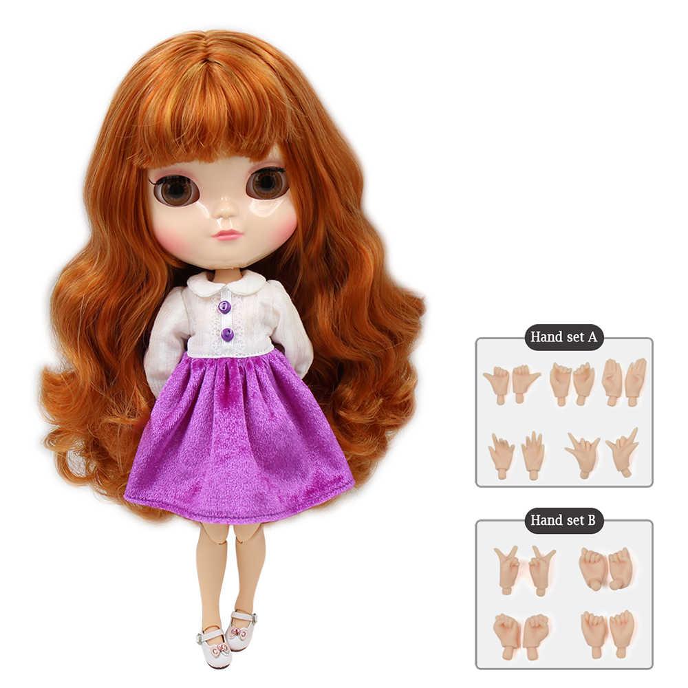 Ледяная Обнаженная кукла азон, шарнир, маленькая грудь, включает в себя ручной набор A & B, как blyth bjd, 11,5 дюйма, 30 см куклы для девочек, бесплатная доставка