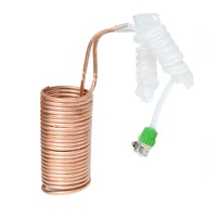 Wort Chiller Copper Cooling Coiler Heat Exchanger For Beer Cooling of Home Brewing Water Cooling System