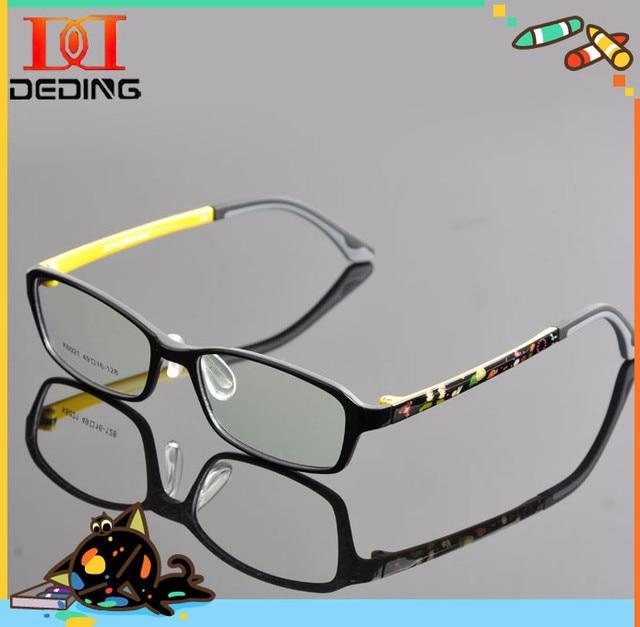 862015e1bc36a Crianças bonito dos desenhos animados óculos de miopia óculos de armação de  óculos de Grau de