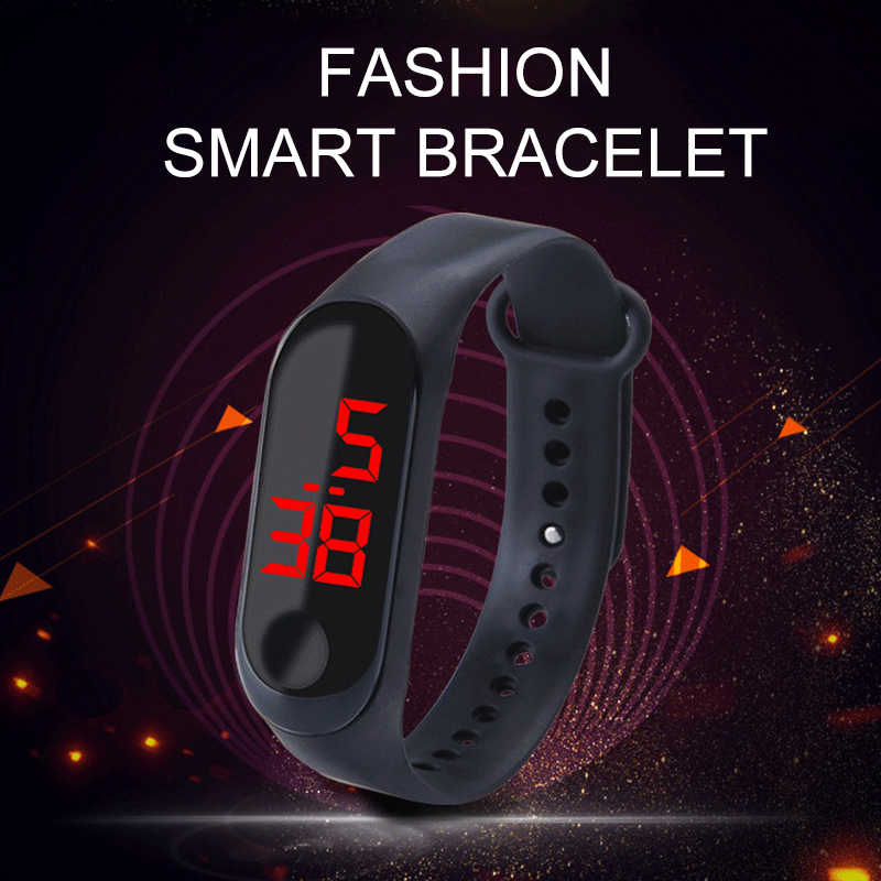 Fashion Student Watch Led Sports Smart Watch Men Women Smart Bracelet for Boys and Girls Smart Band Digital Electronic Watches