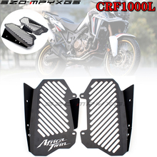 High quality stainless steel motorcycle radiator grille cover for HONDA CRF1000L CRF 1000L Africa twin cylinder 2016 2017 2018