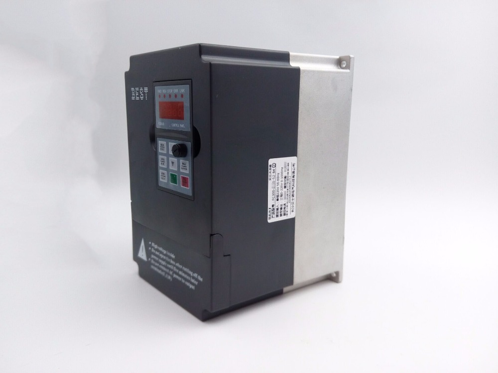 Variable Frequency Drive 11kw 1ph 220v Cnc Spindle Motor