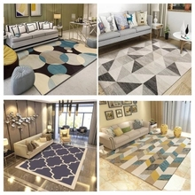 200 cm * 230 large carpet High Quality Abstract Flower Art Carpet For Living Room Bedroom Anti-slip Floor Mat Fashion