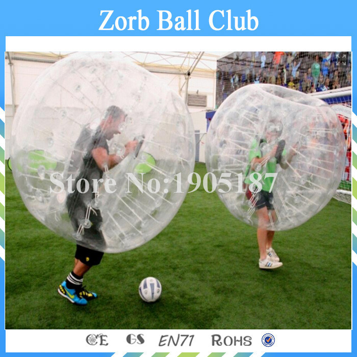 Free Shipping 1. 7m 1.0mm PVC Human Bubble Ball, Zorb Ball, Soccer Bubble Ball Suit