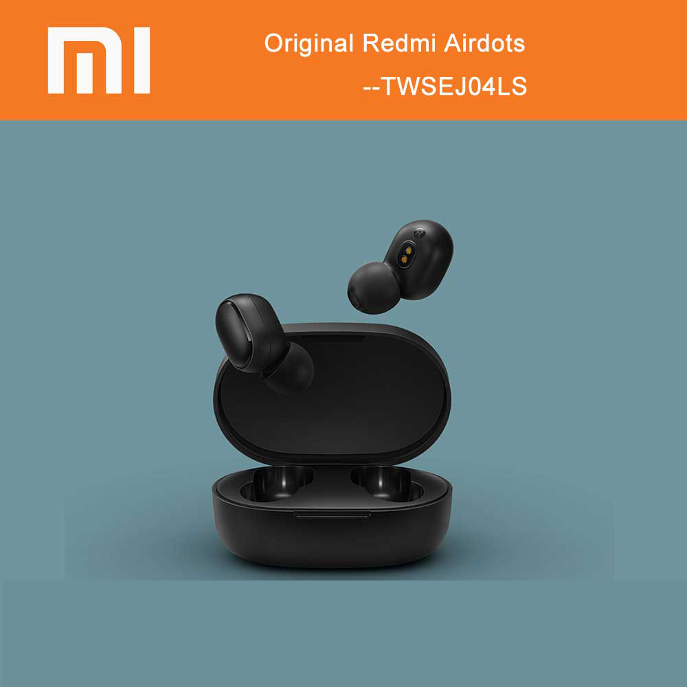 Xiaomi Redmi AirDots TWSEJ04LS True Wireless bluetooth5.0 Earbuds DSP Active Noise Cancellation Headset w/ Mic Earphone-in Bluetooth Earphones & Headphones from Consumer Electronics    1