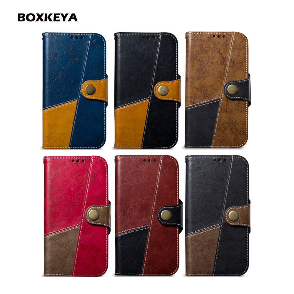 Geometric Mosaic Phone Case For LG K8 2017 EU US K10 2018 EU G7 G7 Thin Q Wallet Leather Flip Mobile Phone Cover
