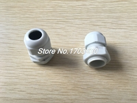 20Pcs Waterproof Gland Connector PG11 W Nut For 5 10mm Dia Cable Wire