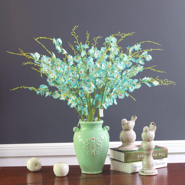 10pcs / Lot Albastru Micul dansator-doamna Orhidee Flori decorative - Produse pentru sărbători și petreceri