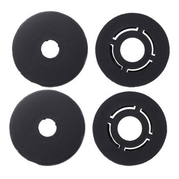 4 Pcs Car Carpet Mat Clips Floor Holders Fixing Grips Clamps For VW /Skoda /Audi for car accessories image