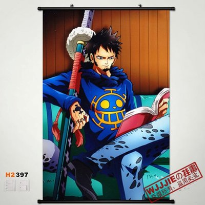 Anime Home Decor Japanese Wall Scroll Poster OnePiece 60*90 H2397 Portgas D Ace