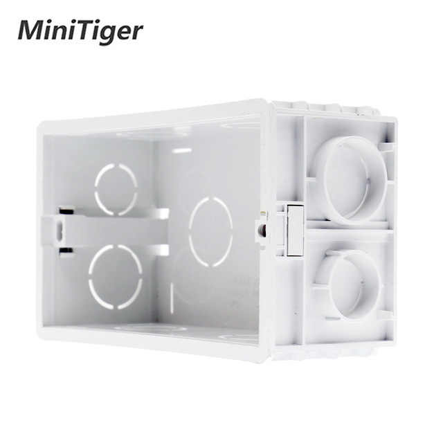 Minitiger French standard Wall Power 16A Socket And 1 Gang 1 Way Wall Light Touch Switch White Crystal Glass Panel Touch Switch