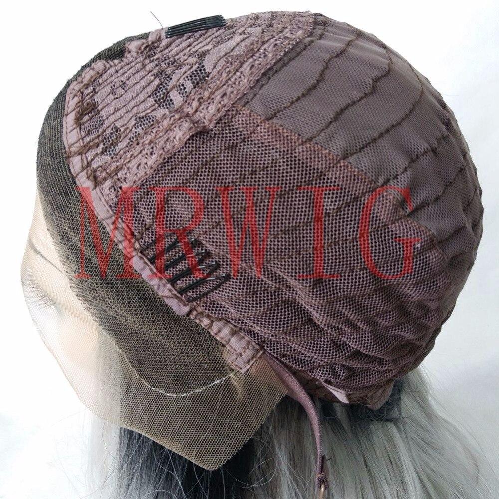 MRWIG κοντή bob ευθεία 1b # ombre μπορντό 12inch - Συνθετικά μαλλιά - Φωτογραφία 6