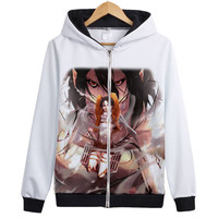 Attack On Titan Hoodie Shingeki No Kyojin Legion Cosplay Wing Hoody Eren Levi Jacket Coat Autumn