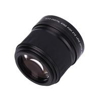 0.21X52 MM Fisheye Groothoek Lens HD Hoge Snelheid Duurzaam Natuurlijke Foto Zwart Camera Camcorder Accessoires Producten Levert Lens