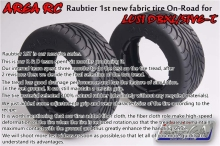Area RC Raubtier 1st new fabric tire ON Road tire for Losi DBXL LOSI 5IVE T