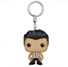 Supernatural Castiel  Vinyl Keychain Action Figures Children Toy