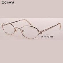 3f67b65b642e6 Titânio garfo Das Mulheres designer de Marca Óculos de Armação Homens óculos  de grau para correção