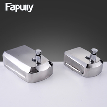 цена на Fapully Stainless Steel Bathroom Soap Dispenser Wall Mounted Hand Liquid Soap Dispenser