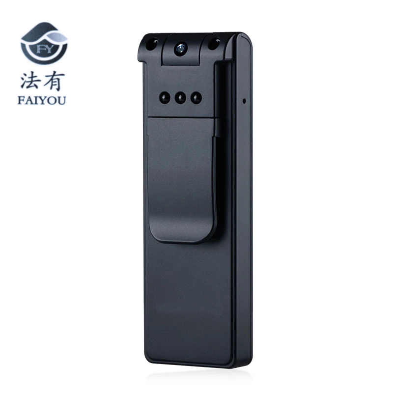 Full HD 1080P Police Body Lapel Worn Video Camera DVR Mini DV Low Illumination Digital Pen Voice Recorder Camcorder Rotate 180