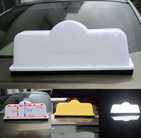 45cm Taxi Sign Cab Roof Top Topper Car Magnetic Sign Lamp 12V Light Waterproof Home Bright Light Car Taxi Top Driver Lamp