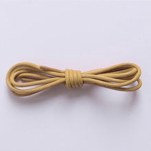 Top Quality Waxed Round Shoe Laces Shoestring for Martin Boots Leather Sport Shoes 70/80cm Fashion Casual Cotton Shoelaces(China)