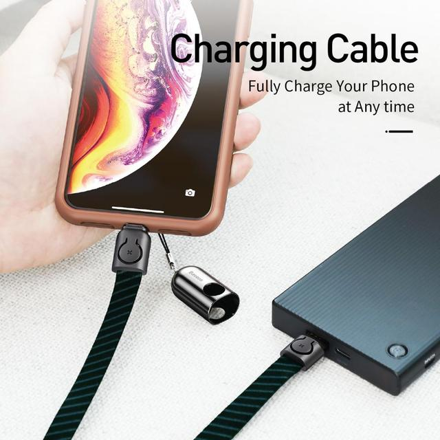 Multi purpose Cord for iPhone X 7 plus Charging Cable