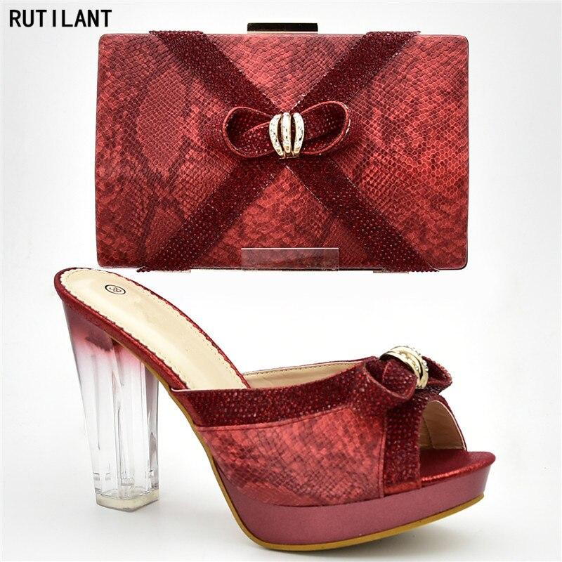 452fe84c purple Mujeres Nueva gold Zapatos sliver Red Bolsos Bolso Llegada black  Establece Italiano África Y En Azul Las Juego ...