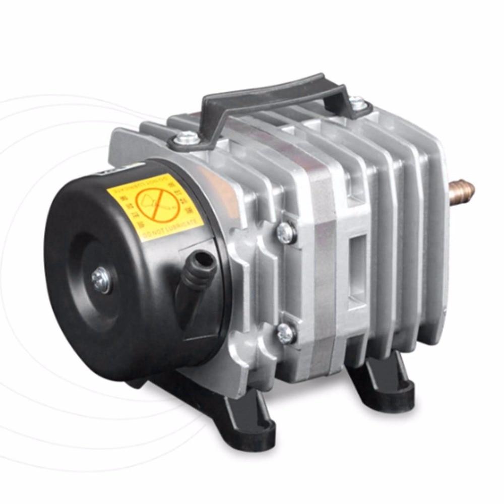 220 V 18 W 38L/Min Aquarium pompe à Air compresseur d'air électromagnétique réservoir de poissons fermes étang pompe à oxygène accessoires d'aquarium