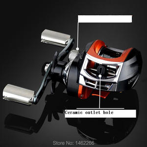 Image 3 - WOEN LK3000 水滴ホイール 15BB 磁気減速釣りリールブレーキ力 6 キロ CNC 金属ロッカー