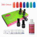 Clou Beaute 8 Colors SONP-Any8 Remover Wraps Cleanser Plus Top Base Coat Nail Lacquer Color Soak Off UV Led Nail Gel Polish