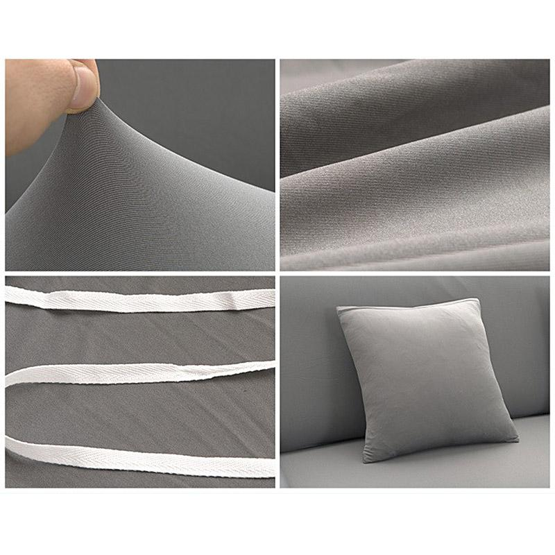 Arm Chair One Seater Sofa Cover Slipcover Stretch Lounge Couch Protector  Slip Cover Solid Color Grey Home Textile Decoration In Sofa Cover From Home  ...