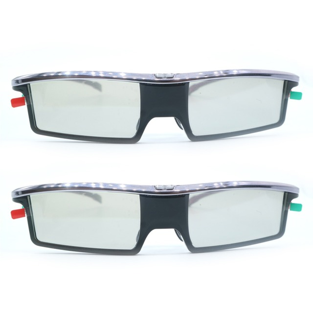 2pcs Replacement GX-21AB Active Shutter Universal 3D Glasses GX-33AB For Samsung/Panasonic/TCL/Thomson/Toshiba/IKEA 3D TV GX33AB