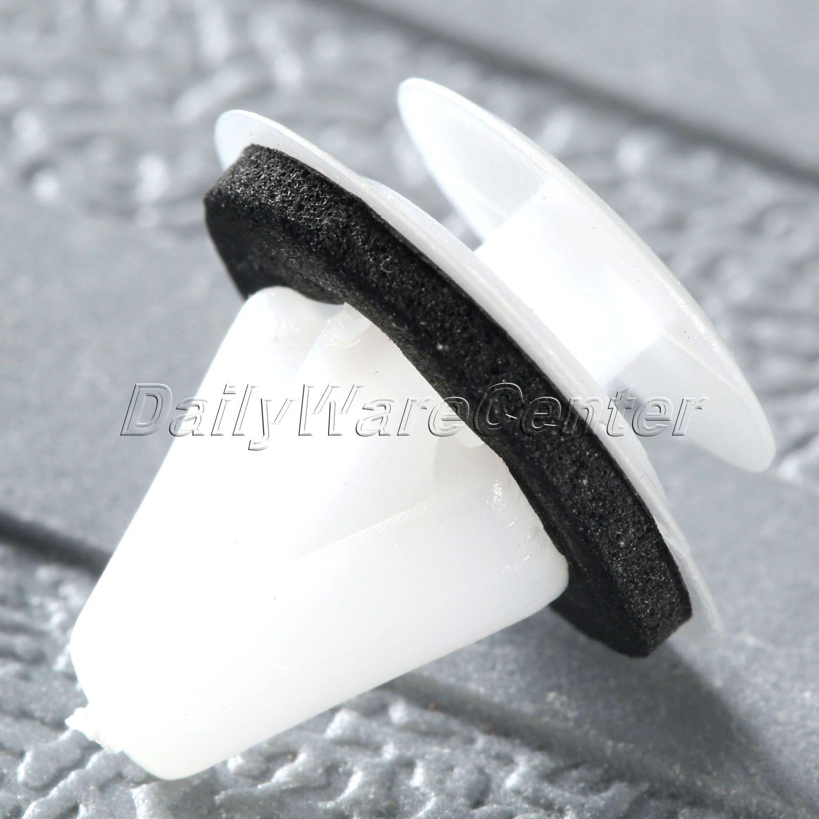 50X Mbërthendëse Side Fender Cliper Parakolp Clip 11.5mm Vrimë - Aksesorë të brendshëm të makinave - Foto 5