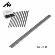 "Cuchillas cepilladoras reversibles para MAKITA BOSCH DeWalt BLACK & DECKER Ryobi Ataka, HZ, 10 Uds., 3 1/4 "", 1,1mm x 5,5mm x 82mm, HSS"