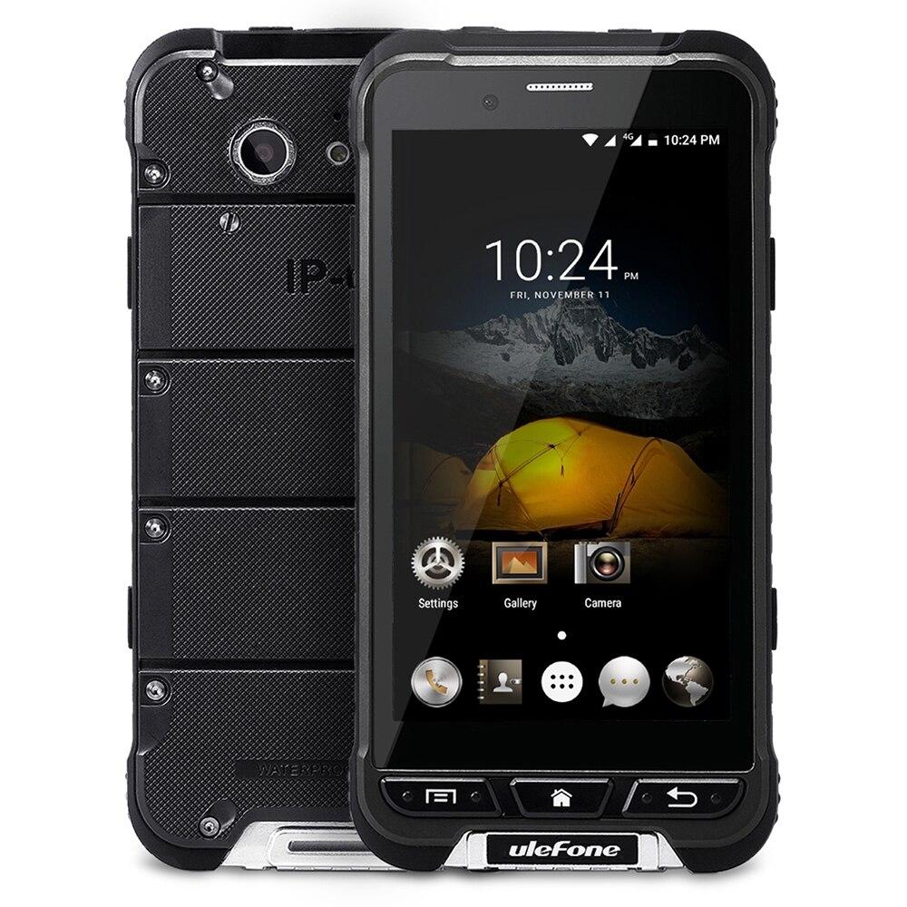 bilder für Ulefone RÜSTUNG 4,7 zoll 4G Smartphone Android 6.0 MTK6753 Octa-core Handy 3 GB 32 GB 5MP + 3MP Kamera Wasserdicht NFC OTG