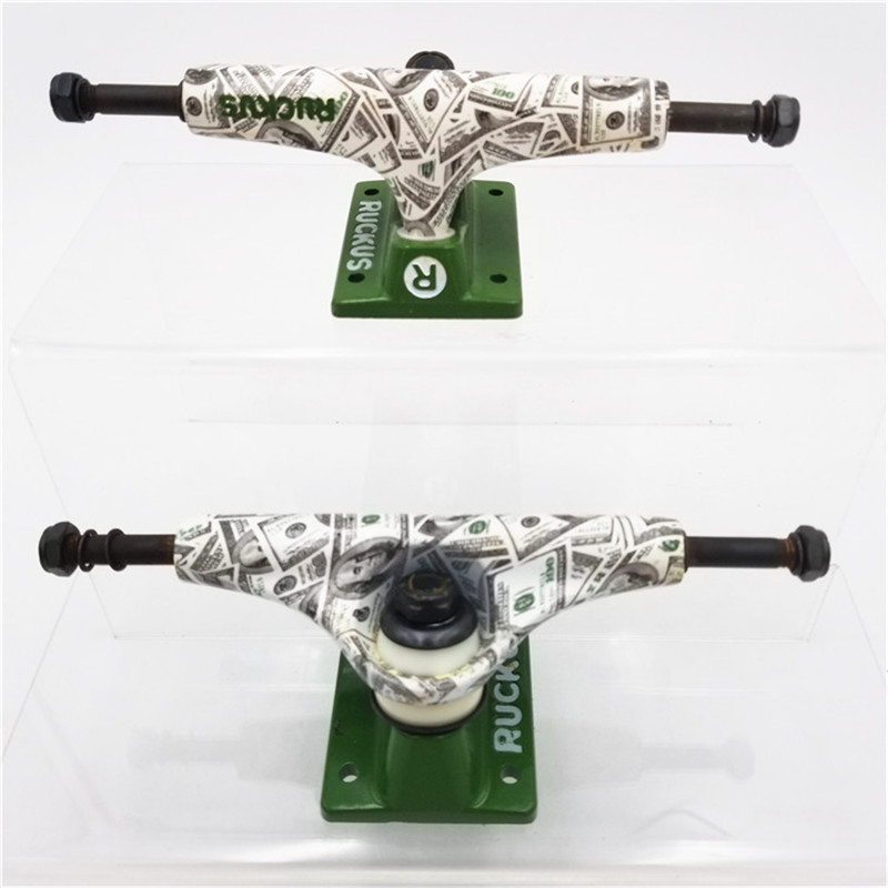 """Image 4 - RUCKUS Skate Board Trucks 5inch Middle/Low Skateboard Trucks Aluminum Trucks For 7.5"""" 7.75"""" Skateboard Decks-in Skate Board from Sports & Entertainment"""