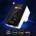 AC750 Wi-Fi Range Extender Маршрутизатор Reapter Ускорители 2.4 ГГц & 5 ГГц Dual Band Макс. 750 Мбит/С 802.11ac ЕС/США