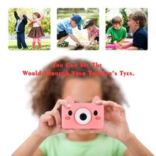 Digitale Kids Kamera Nette Cartoon Mini SLR Punkt Schießen Kamera Für Kinder Geburtstage Geschenk CMOS 2 zoll Full HD Kinder jungen Camcorder