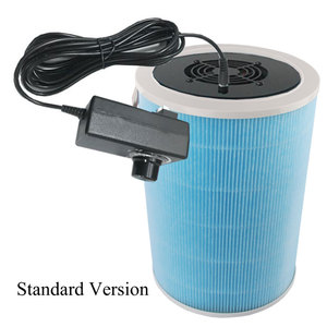 Image 2 - Homemade DIY Air Cleaner HEPA Filter Remove PM2.5 Smoke Dust Formaldehyde TVOC Home Car Deodorization Air Purifier
