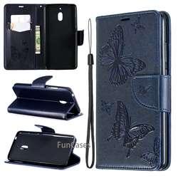 Чехол для Nokia 2,1 2018 TA-1080 TA-1092 TA-1086 модный флип бабочка кошелек кожа высокое качество для Nokia2.1 2018 TA1080 сумка