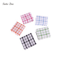 50PC high efficiency greasy Colorful kitchen Dish Towel, cleaning cloth, not easy to lose hair, tea towel, window cleaning cloth
